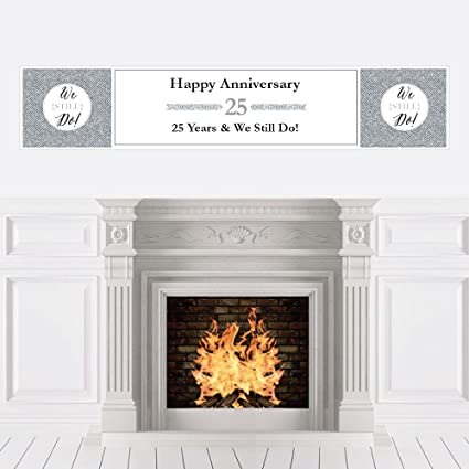 Amazon We Still Do 25th Wedding Anniversary Party Decorations