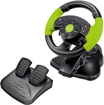 ESPERANZA - Volante - EG104 USB PC, PlayStation 3, Xbox 360: Amazon.es: Electrónica