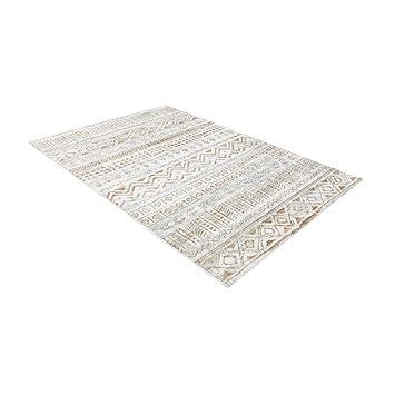 ZHHL Moderne Marokkanischen Stil Teppich Wohnzimmer Nacht Schlafzimmer  Couchtisch Bereich Teppich (Beige) (Größe