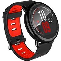 Relógio Inteligente Smartwatch Xiaomi Pace 1 GPS, Monitor Cardíaco e de Sono Integrado - iOS E Android (Preto)