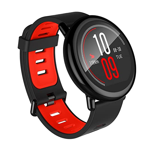 9d5ab6144 Amazfit Pace Multisport Smartwatch by Huami with All-Day Heart Rate and Activity  Tracking,