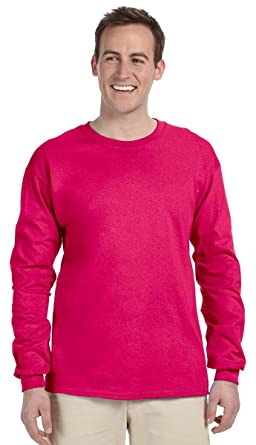 7f760c47 Fruit of the Loom Adult Ribbed Cuffs Jersey T-Shirt | Amazon.com