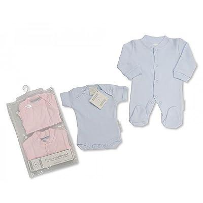 100% coton pour bébé prématuré Grenouillère et Dad Vêtements de Rose–3/5/5kg