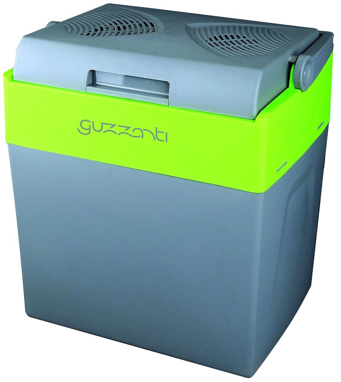 Guzzanti GZ 30B Thermoelektrische Kühlbox mit Aufwärmfunktion, Grau, 30 l