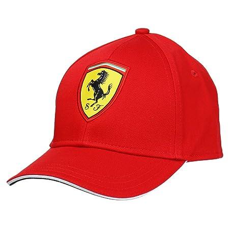 Scuderia Ferrari Gorra Niño Clásica Roja  Amazon.it  Sport e tempo ... e3180da1156e