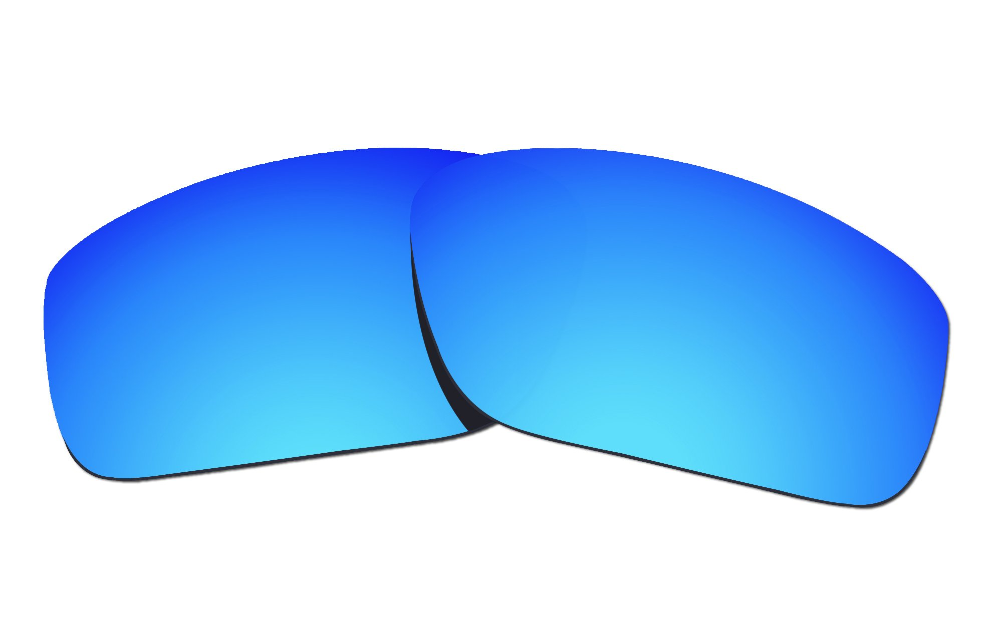 COLOR STAY LENSES 2.0mm Thickness Polarized Replacement Lenses for Oakley Straightlink OO9331 Blue Mirror Coatings by COLOR STAY LENSES