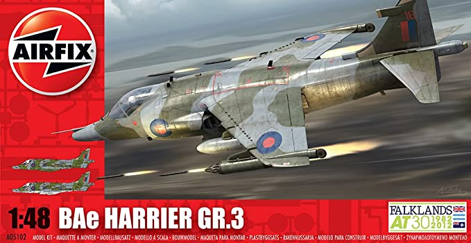 Airfix 1:48 BAe Sea Harrier GR 3 (A05102)