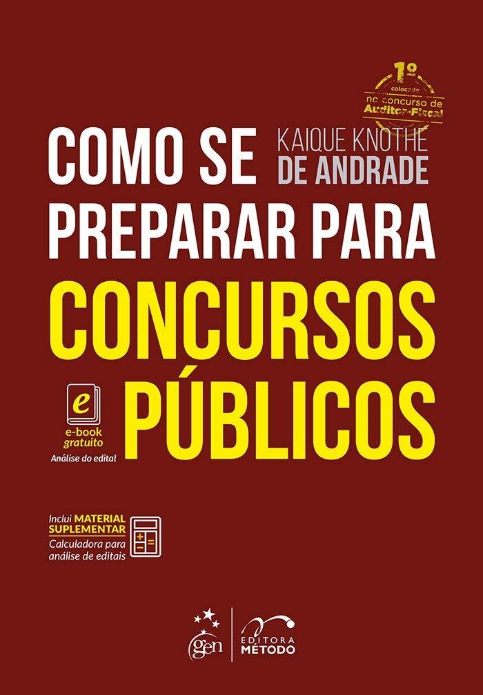 Como Se Preparar Para Concursos Públicos 9788530976866