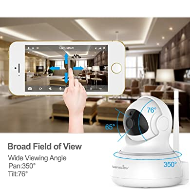 Wansview Wireless IP Camera - Movements