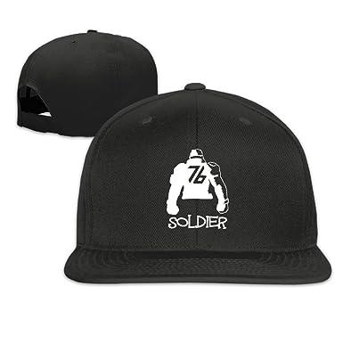 64c755ffed7 Overwatch Soldier 76 Unisex Outdoor Baseball Tour Cotton Hat Adjustable  Black