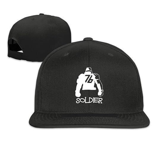 bef9ccc60f9 Overwatch Soldier 76 Unisex Outdoor Baseball Tour Cotton Hat Adjustable  Black