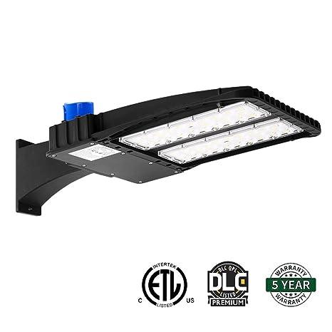 AntLux 150W LED Parking Lot Lights   LED Shoebox Pole Light   18600lm,  5000K