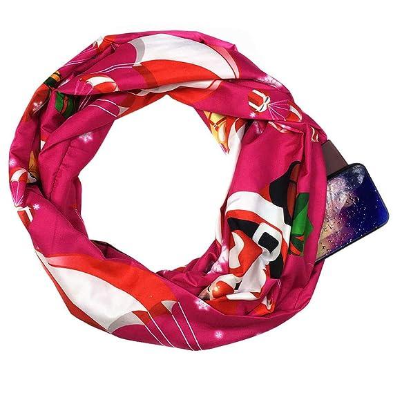 Herren Damen Warm Fleece Loop Schal Halstuch Schals Rundschal Schlauchschal Mask