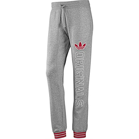 adidas Originals Slim Fit Sweat Pant, Hombre, Gris, XL: Amazon.es ...