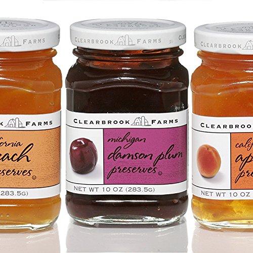 Clearbrook Farms Michigan Damson Plum Preserves - 10 oz Twist Top Jar