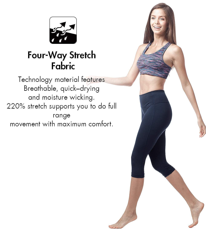 LAPASA Sujetador Deportivo Sin Aros Ideal para Yoga (Tallas 75 a 100) L07