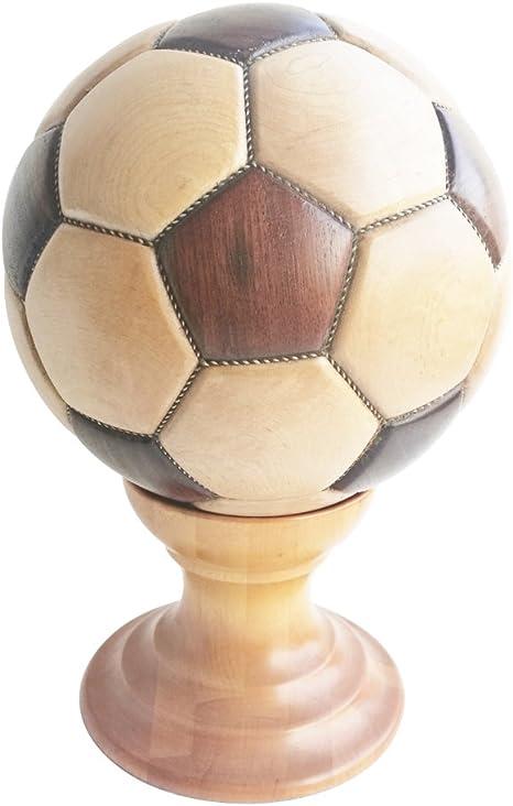 Kukin - Balón de fútbol de madera para manualidades, regalo ...