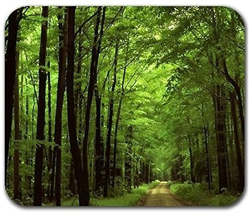 Deep-In-The-Forest-Thick-Green-Vegetation-Tree-Nature-Mouse-Pad-Mat