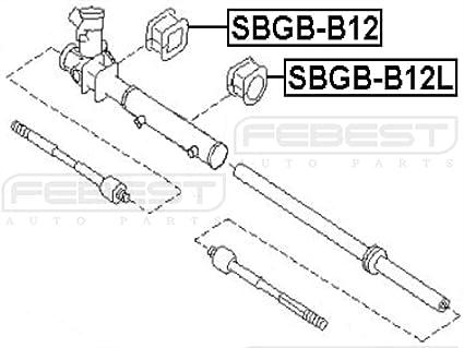 Amazon Com Febest Sbgb B12l Steering Rack Housing Grommet Automotive