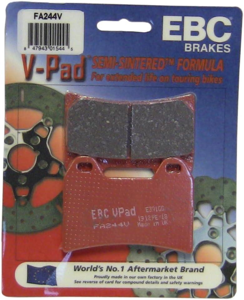 EBC Brakes FA244V Semi Sintered Disc Brake Pad
