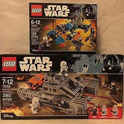 LEGO Star Wars Imperial Assault Hovertank & Star Wars Bounty Hunter Speeder Bike Battle Pack