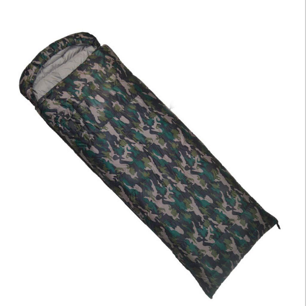 DGB Une Excursion De Camping en Montagne avec Camouflage pour Adultes Peut Être Cousue dans Un Sac De Couchage E 2.2kg