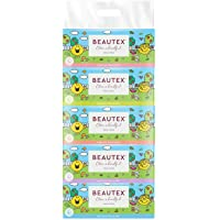 Beautex Mr Men and Little Miss 3 PLY Box Tissue, 100ct (Pack of 5)