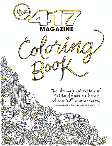 The 417 Coloring Book (417 Magazine)
