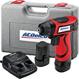 ACDelco ARD847 Li-ion 8-Volt Super Compact Drill Driver, 111 in-lbs, 2 Battery included
