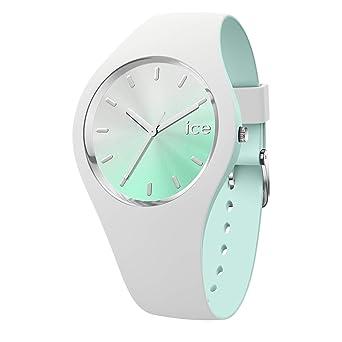Mit Chic Ice Aqua Damenuhr Watch Duo White Weiße c5LSAR4j3q