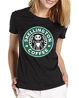 jack skellington nightmare before christmas coffee logo for women T shirt