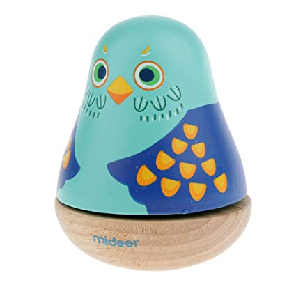 SM SunniMix Bebé Tumbler Bee Roly Poly Toy-Wind Up Music Box ...