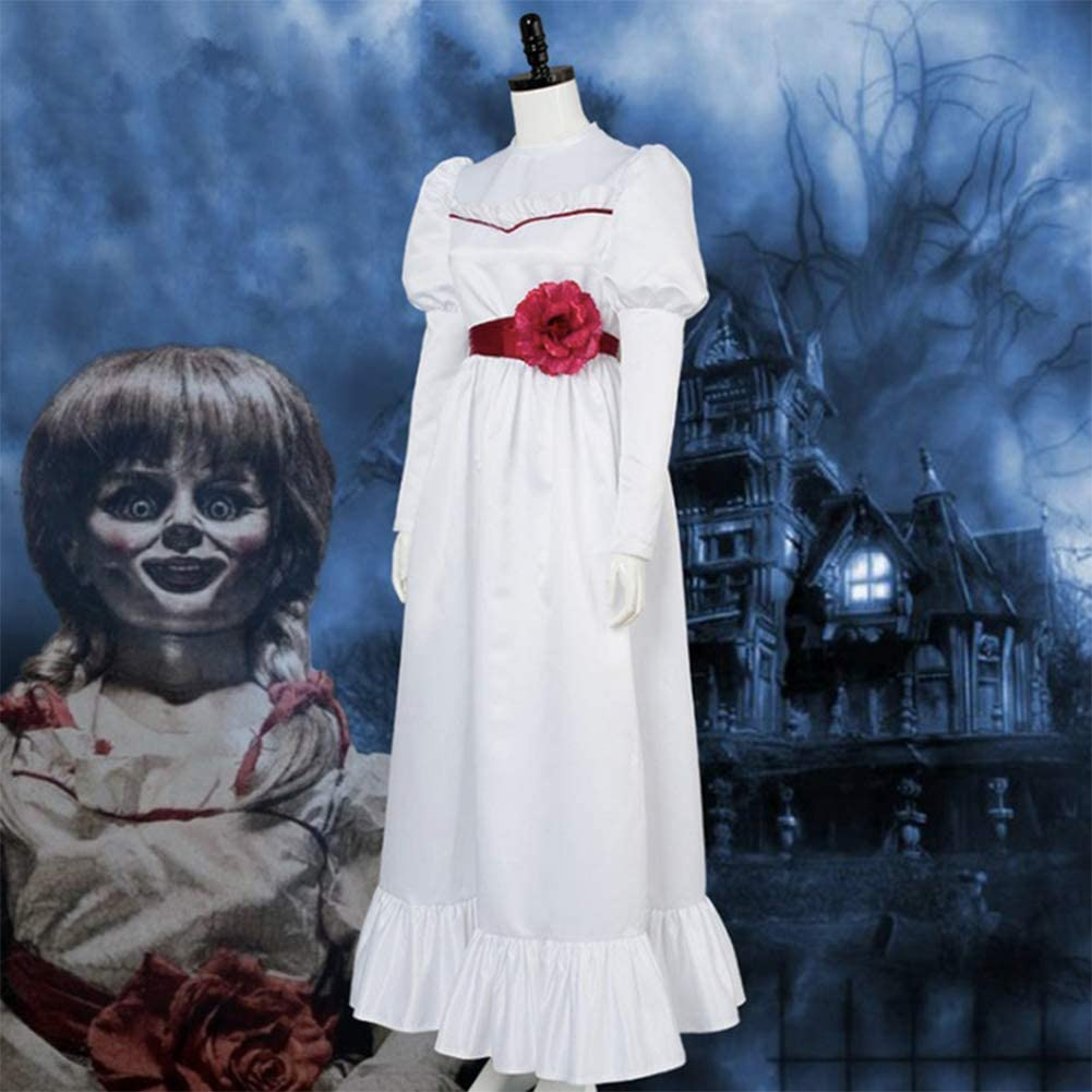 GGOODD Película De Terror Annabelle Cosplay Costume Halloween ...