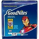 Goodnites Underwear - Boy - Small/Medium - 26 ct