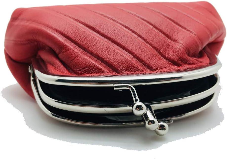 Monedero DE Mujer LUGUPELL Rojo N1051 14 x 9
