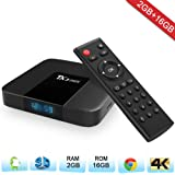 Zenoplige TX3 MINI Android 7.1 TV Box Quad-core 64 Bit DDR3 2GB RAM 16GB ROM 3D 4K UHD WiFi & LAN H.265 Smart TV Box