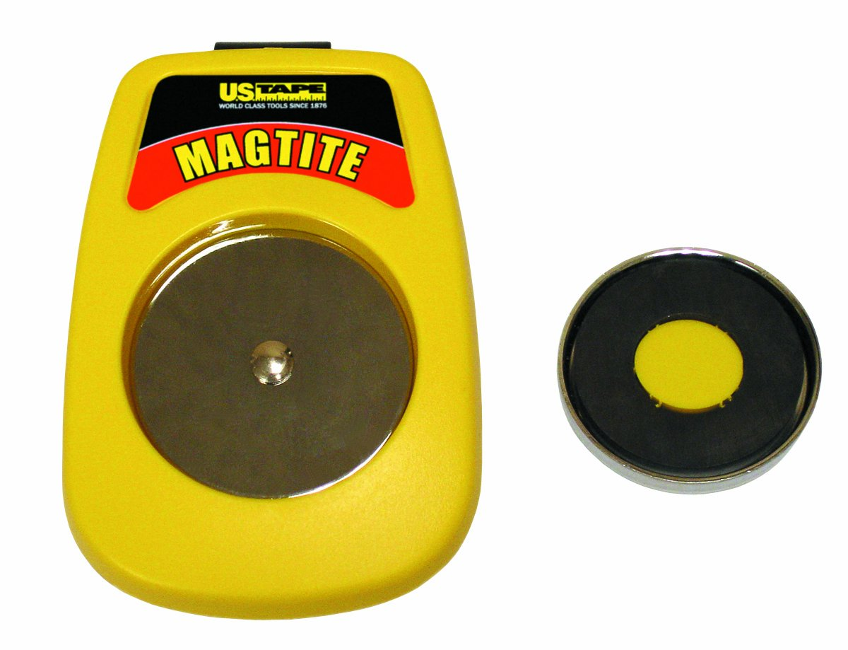 US Tape 59955 Magtite Tape Measure Holster, Yellow
