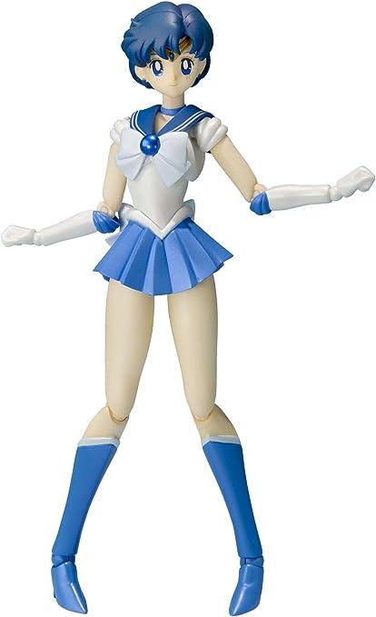 S.H.Figuarts Sailor Moon Sailor Mercury Action Figure BANDAI TAMASHII NATIONS