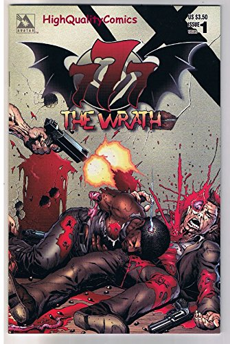 777 : The WRATH #1, NM, Wrap Variant, Tim Vigil, Adult, 1998, more TV in - Store 777