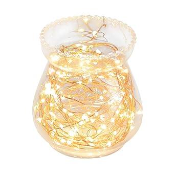 OxyLED Luces de cadena de hadas,120LED 12M Luces estrelladas regulables, luces de cadena