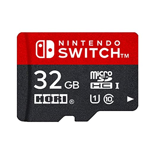 Amazon.com: Nintendo Switch 32 GB Micro SD Memory Card [Hori ...