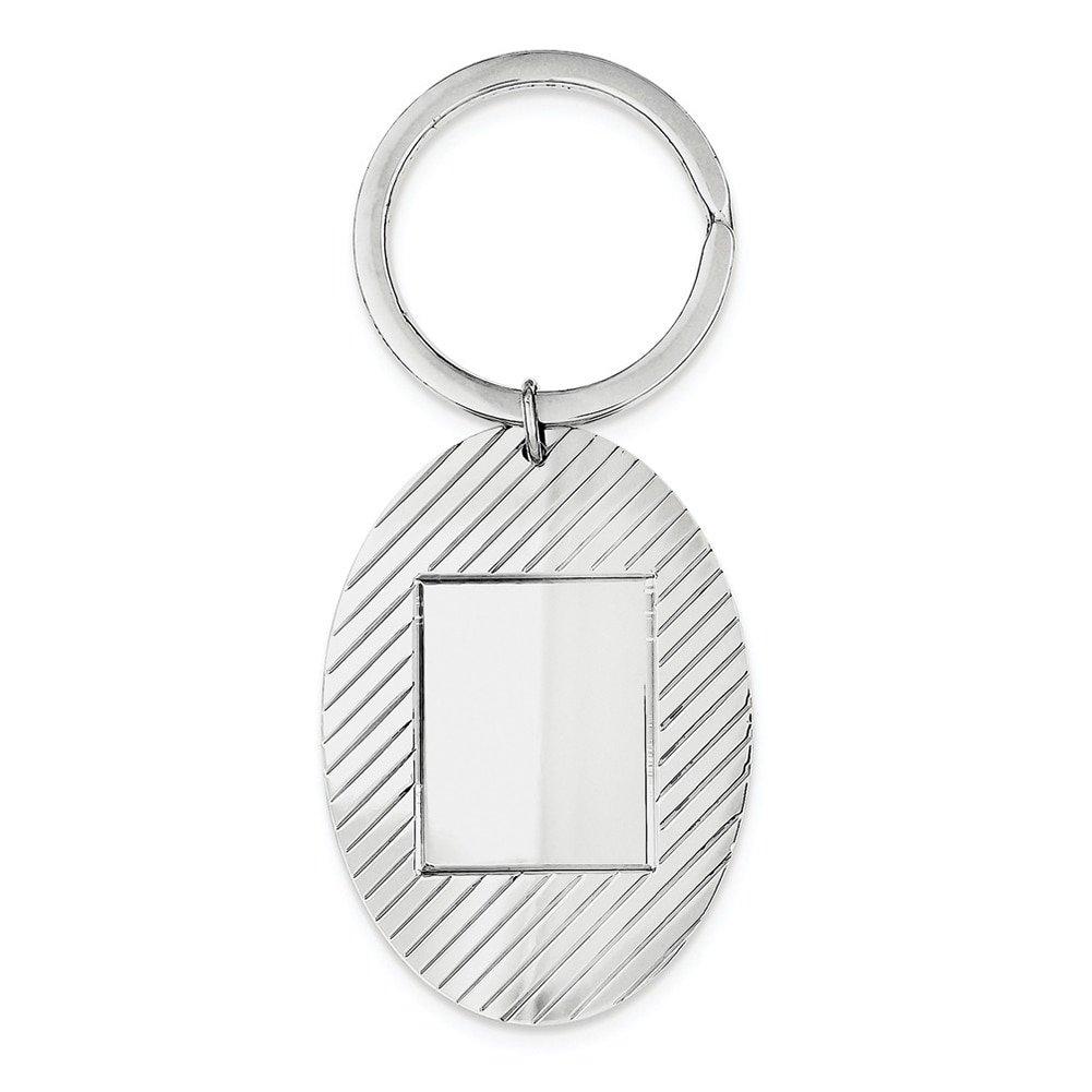 Lex & Lu Sterling Silver Key Chain LAL116612