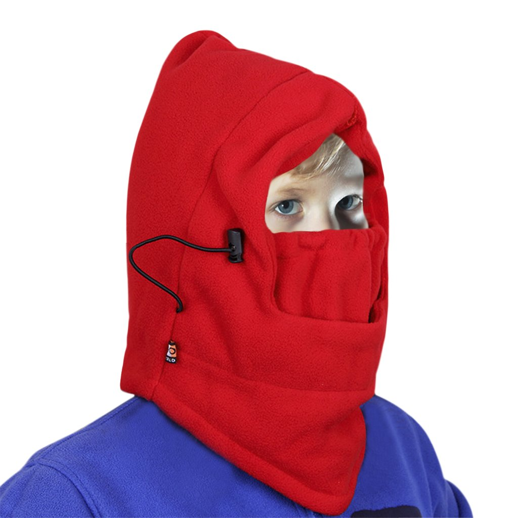 YLucky Child Winter Windproof Hat Thicken Cycling Cap Thermal Face Cover Ski Balaclava Hat Mask Hood Hat Cap Sports