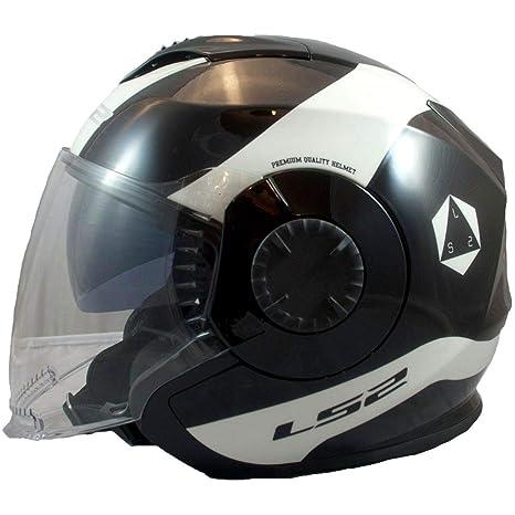 Amazon.com: LS2 Verso Rave - Casco de moto para adulto, M ...