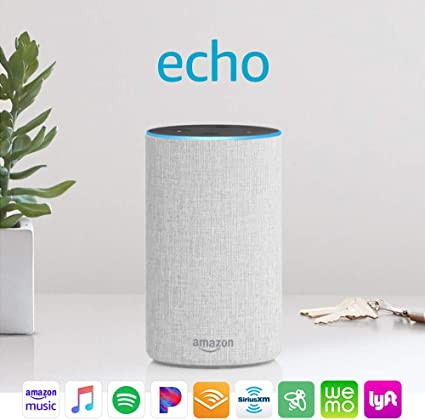 Amazon Echo All 3 Colors Smart Speaker with Alexa 2nd Generation