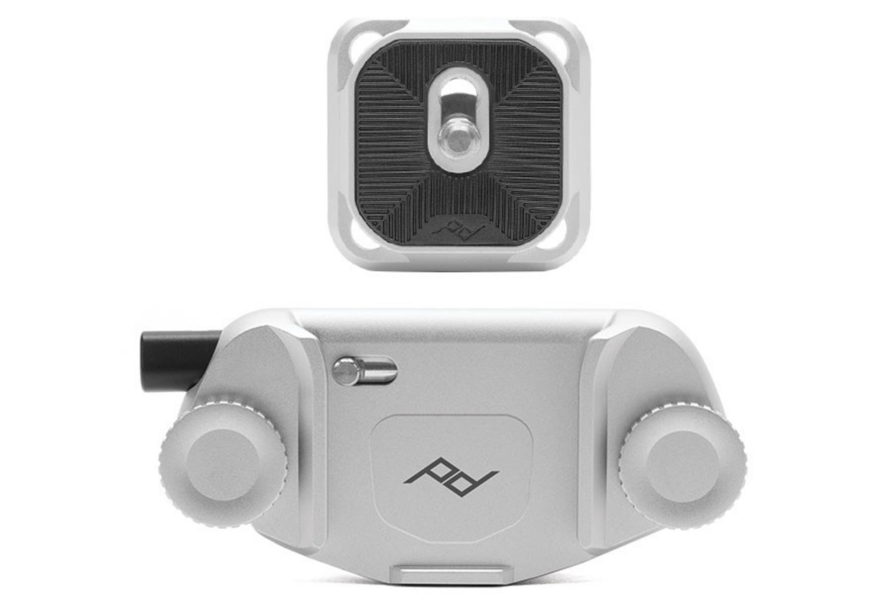 Peak Design Capture Camera Clip V3 (Silver with Plate)