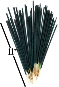 100 Pack Mintronella Natural Plant Based Mosquito Bug Gnats Fly Outdoor Sticks. Hand-Made in the USA. . With Citronella Lemongrass and Peppermint Essential Oils. RV, Patio, Pool, Balcony, Camping