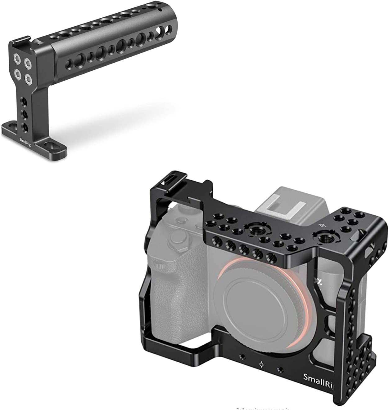 SMALLRIG A7RIII / A7III Camera Cage for Sony A7RIII / A7III Camera + Top Handle 1638