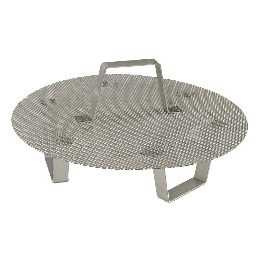 Brewer'sBest 5693 stainless steel false bottom w/legs for 8 gal pots/kettles Brewing Equipment, For 8 Gallon
