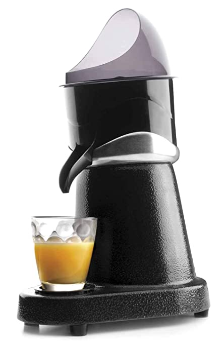 Lacor 69286 Exprimidor Zumo de Naranja eléctrico Profesional, Acero Inoxidable, Libre de BPA,